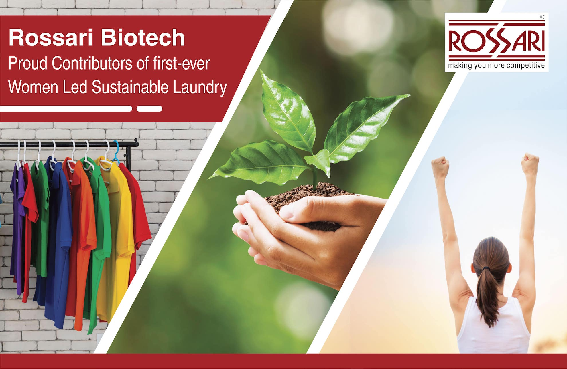 Rossari Biotech: Proud Contributors of first-ever Women Led Sustainable Laundry